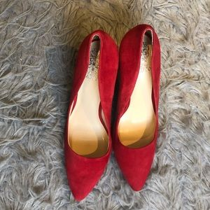 Gorgeous red Vince Camuto Heels